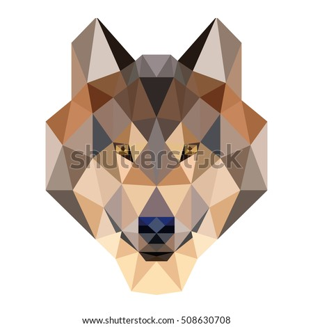 polygon animal pet polygonal