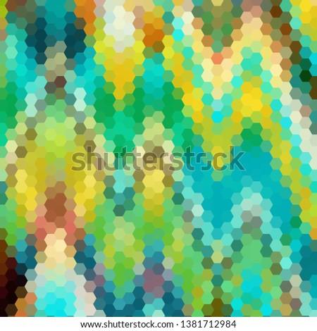 polygon colorful lighting ii