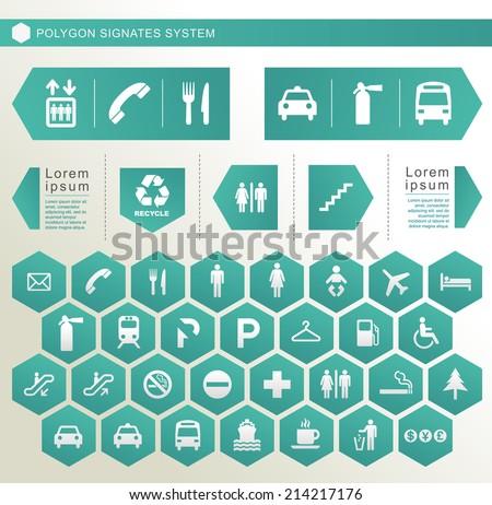 Polygon Signage System