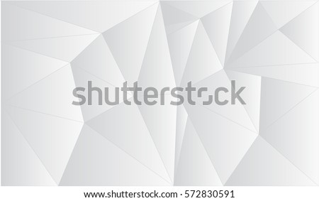 Polygonal background.Vector Abstract Elegant white and grey Background. Abstract white  Pattern.  triangle Texture