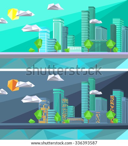 polygonal city