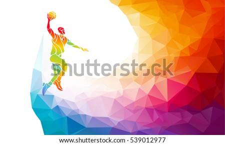 polygonal geometric basketball