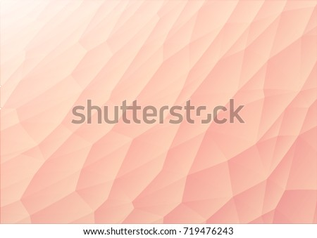 polygonal illustration like human skin in body color