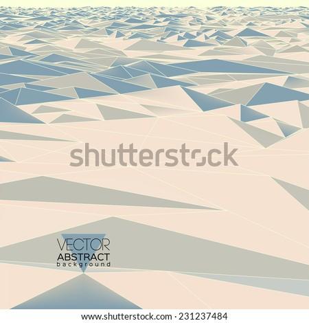 polygonal landscape of the