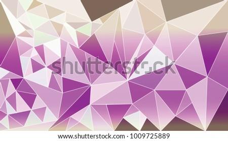 polygonal lavender paper vector