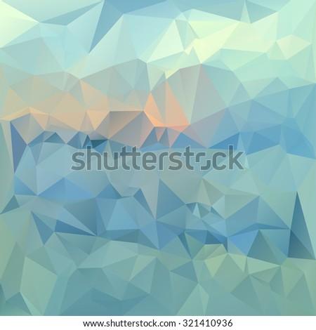 polygonal mosaic abstract