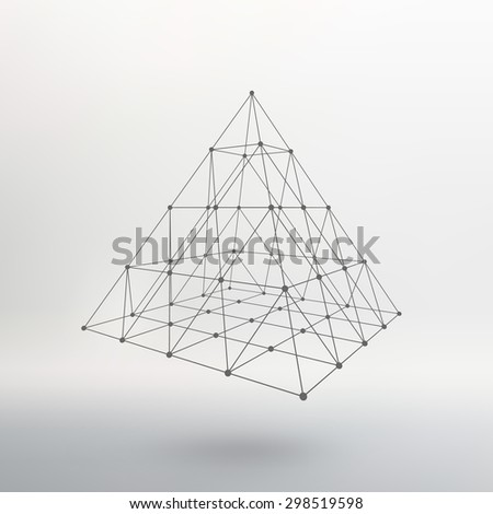 polygonal pyramid pyramid of