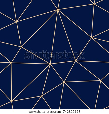 stock-vector-polygonal-seamless-background-geometric-line-golden-blue-pattern-for-wallpapers-and-textile