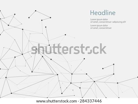 Polygonal vector background. Vector illustration. Foto d'archivio ©