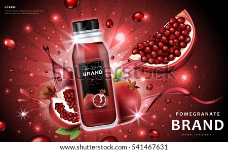 pomegranate juice ads