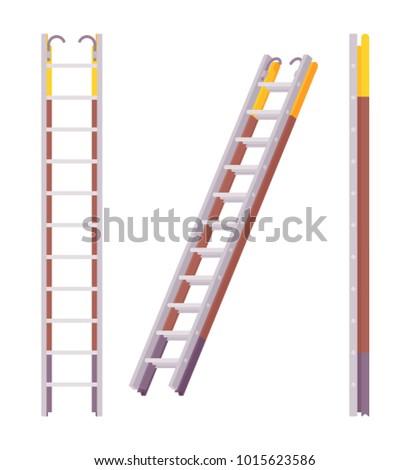 pompier ladder set fireman
