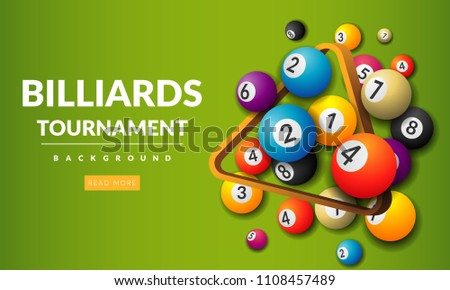 pool billiards tournament