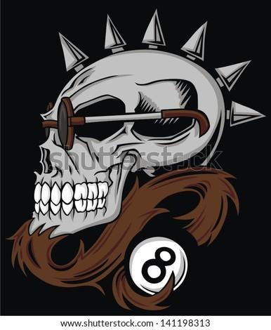 pool skull