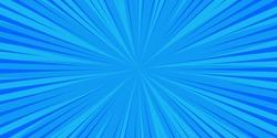 Pop art blue comics book cartoon magazine cover. Cartoon funny retro pattern strip mock up. Vector halftone illustration. Vintage backdrop for comic superhero text, speech bubble, message.