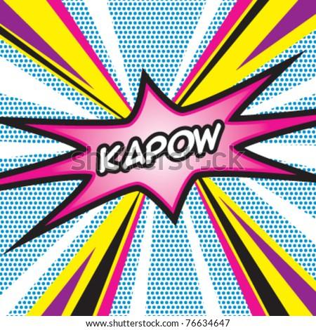 Pop Art KAPOW