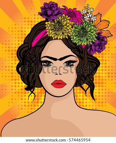 pop art maria callas style