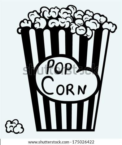 popcorn exploding inside the
