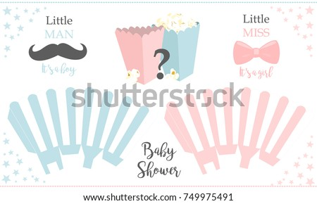 popcorn paper box template