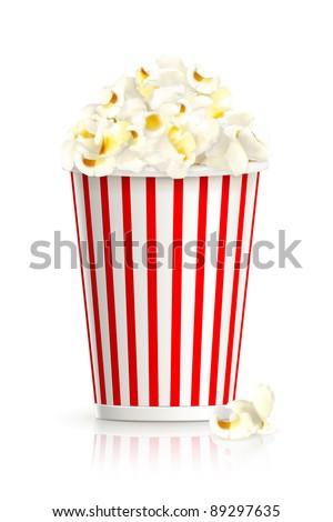 Popcorn, vector
