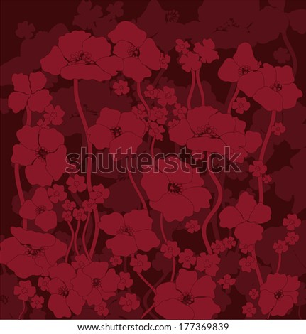 poppies flower picturevector