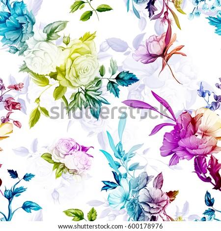 poppy  wild rose  cornflowers