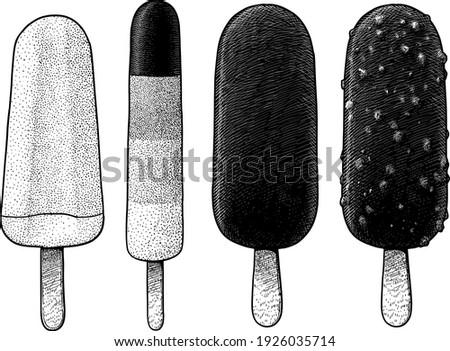 popslice and ice cream