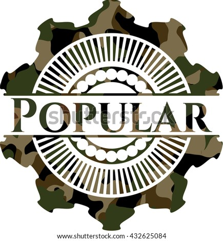Popular on camo pattern