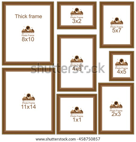 Vector Images Illustrations And Cliparts Popular Picture Frame