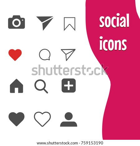 popular social networking icons, instagram