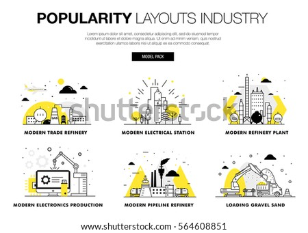 popularity modern layouts