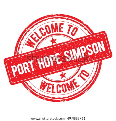 port hope simpson welcome to