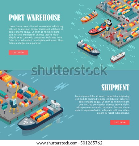 port warehouse and shipment