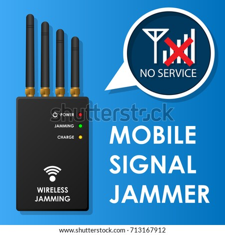 Portable Wireless Mobile Signal Jamming for Prevent Bomb Terrorist Security Electronic Device