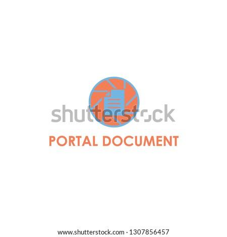 portal document logo design