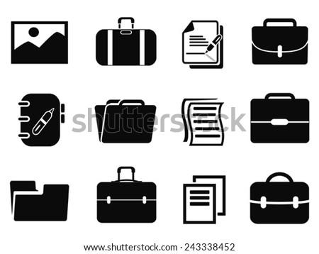 portfolio icons set