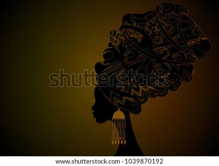 portrait beautiful african