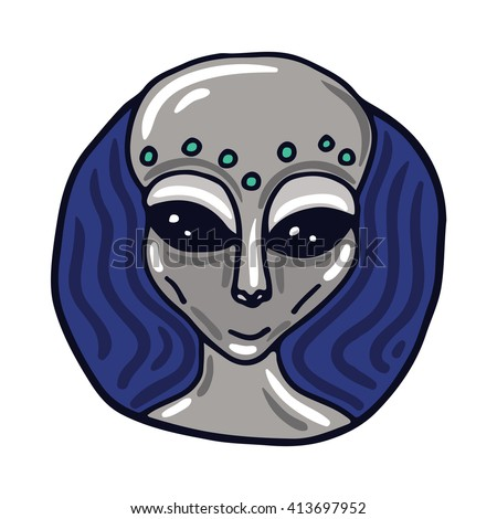 portrait of a roswell greys