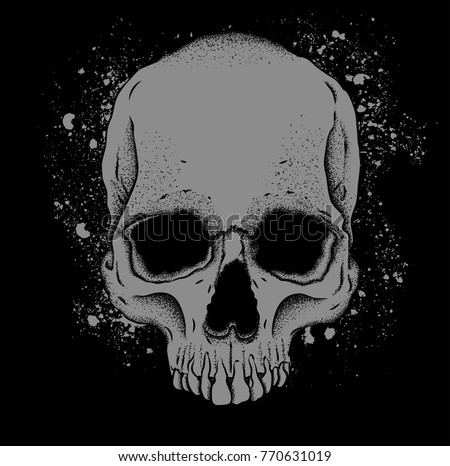 Skull And Brain - Download Free Vector Art, Stock Graphics & Images