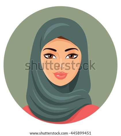 portrait of a young muslim