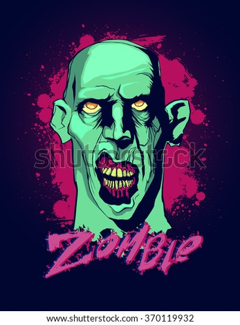 portrait of a zombie portrait