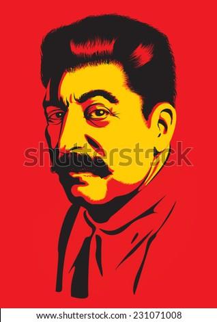 Portrait of Joseph Stalin Stock photo ©
