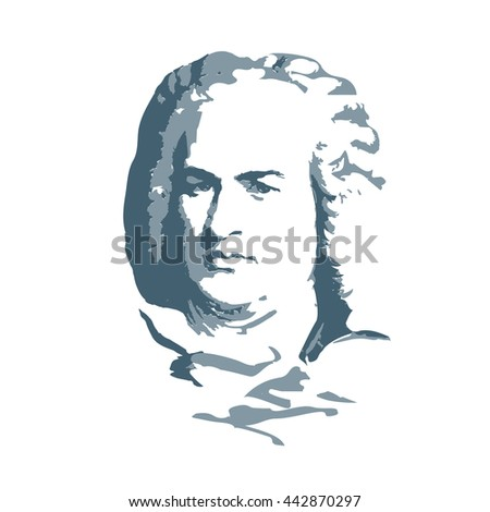 portrait of the composer and