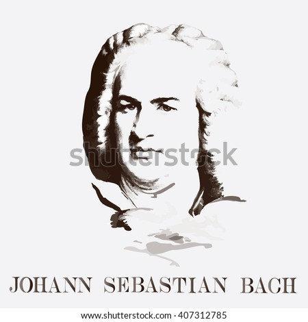 portrait of the composer johann