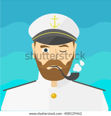 portrait of the ship's captain