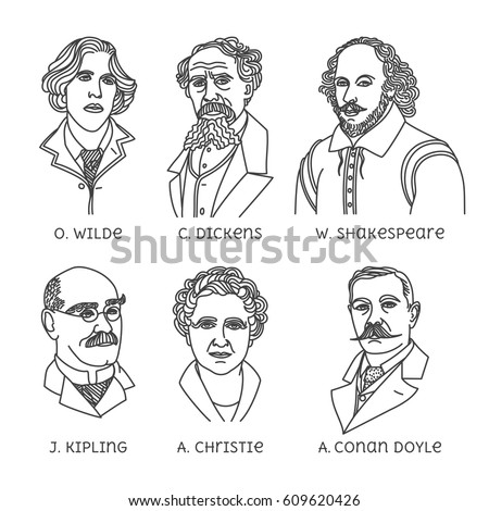 portraits of english famous