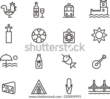 portugal icons
