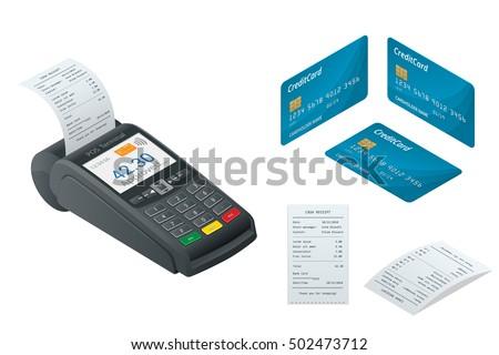 pos terminal  debit credit card