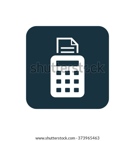 pos terminal Icon Vector