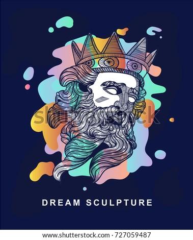 poseidon dream sculpture