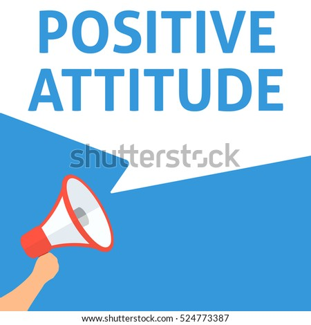 positive attitude announcement